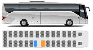 Setra S 516HD/2 Reisebus